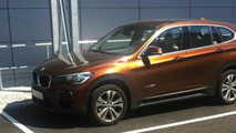BMW X1 photographed in the flesh