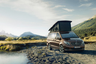 Explore New Worlds in the Mercedes-Benz Marco Polo Campervan