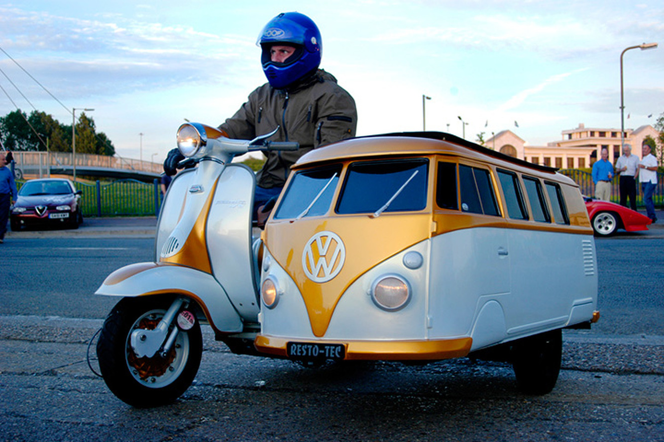 This VW Type 2 Sidecar is the Most Vantastic Way To Ride Shotgun