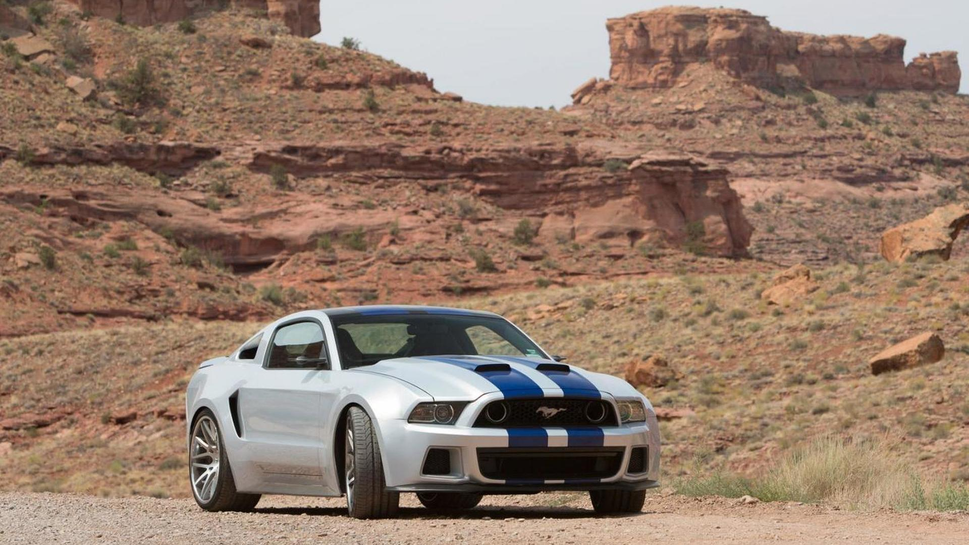 2014 Ford Mustang from Need For Speed movie going up for auction
