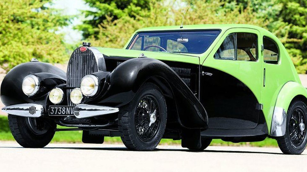 Ettore Bugatti's personal 1936 Bugatti Type 57C Coupe