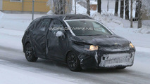 Latest 2011 Citroen C4 Spied Winter Testing