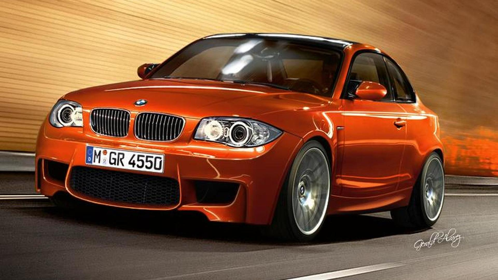 BMW 1-Series M Coupe briefly revealed [video]