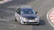 2012 BMW 135is spy photos on Nurburgring 20.04.2010