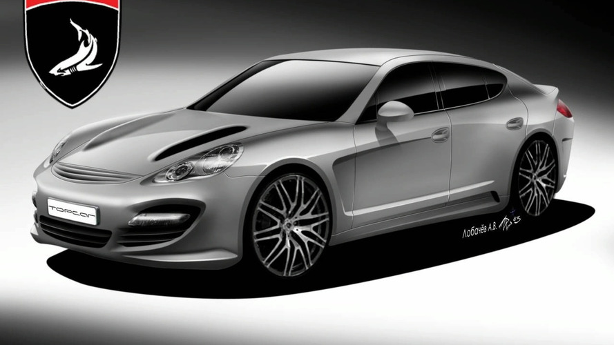 More 9FF Porsche Panamera Sketches Surface