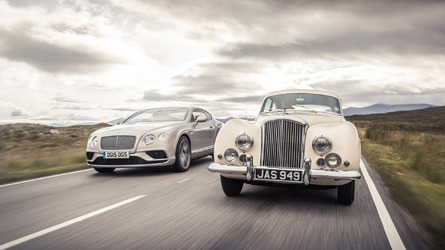 Bentley highlights the 1952 R-type Continental [video]