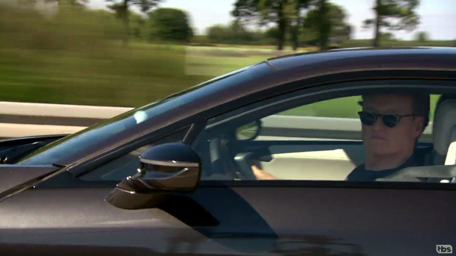 Conan O'Brien takes BMW i8 to 143 mph on the Autobahn, hilarity ensues