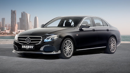 Mercedes E-Class receives heavy dose of Brabus steroids