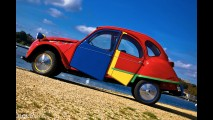 Citroen 2CV6 Picasso by Andy Saunders