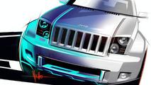 Jeep Trailhawk Concept design sketch