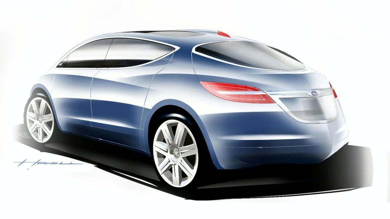 Chrysler EcoVoyager Hybrid Concept