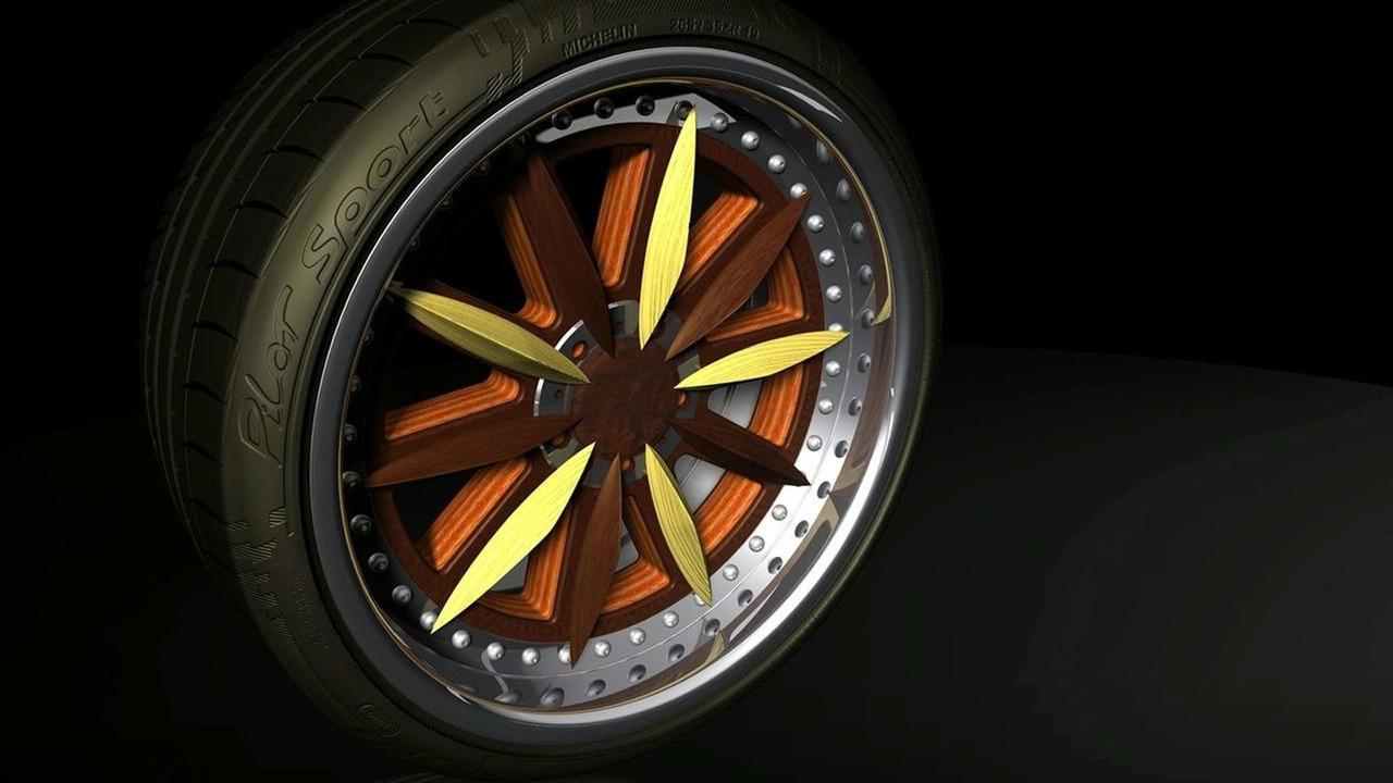 Splinter Supercar Made of Wood