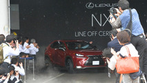 2015 Lexus NX enters production