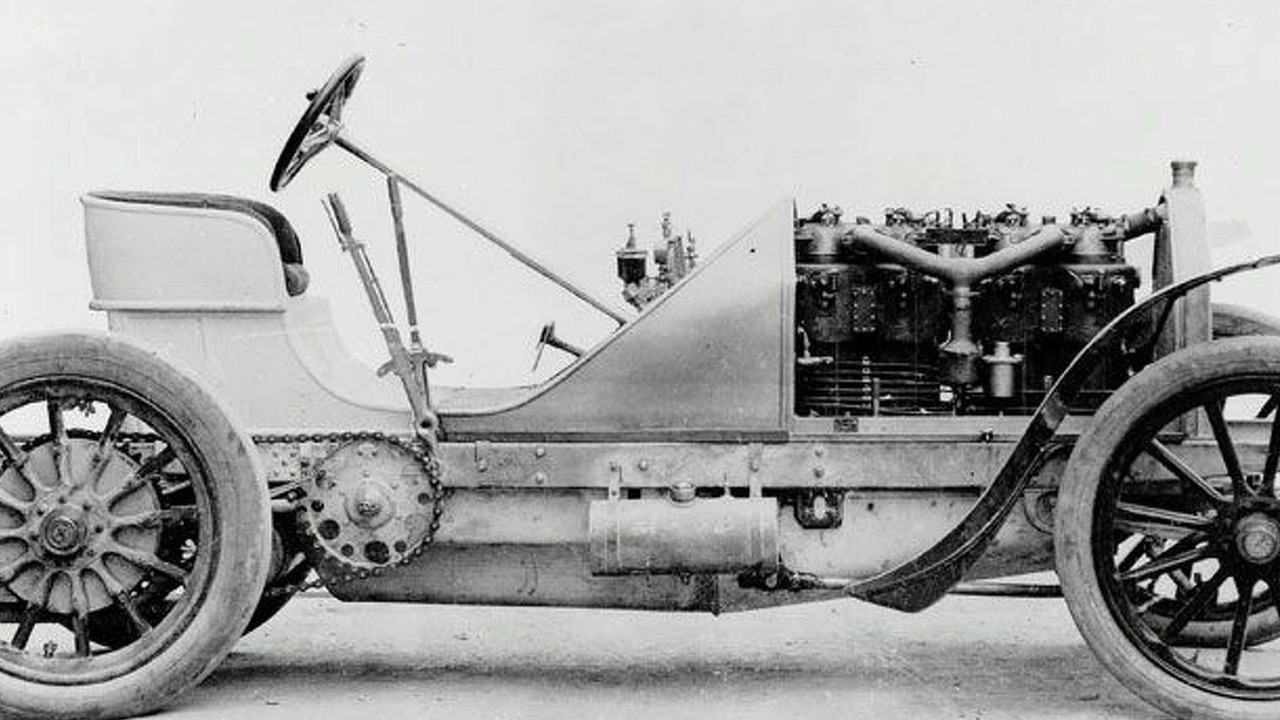 90 hp Mercedes-Benz of E. R. Thomas