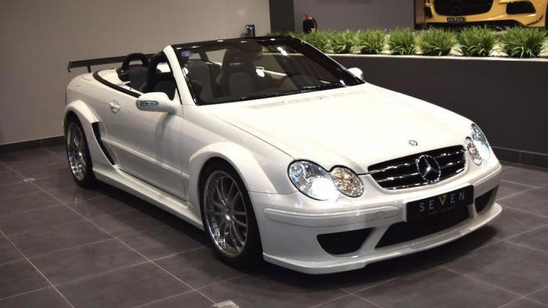Rare mercedes benz clk dtm amg cabriolet for sale in saudi for Mercedes benz cabriolet for sale