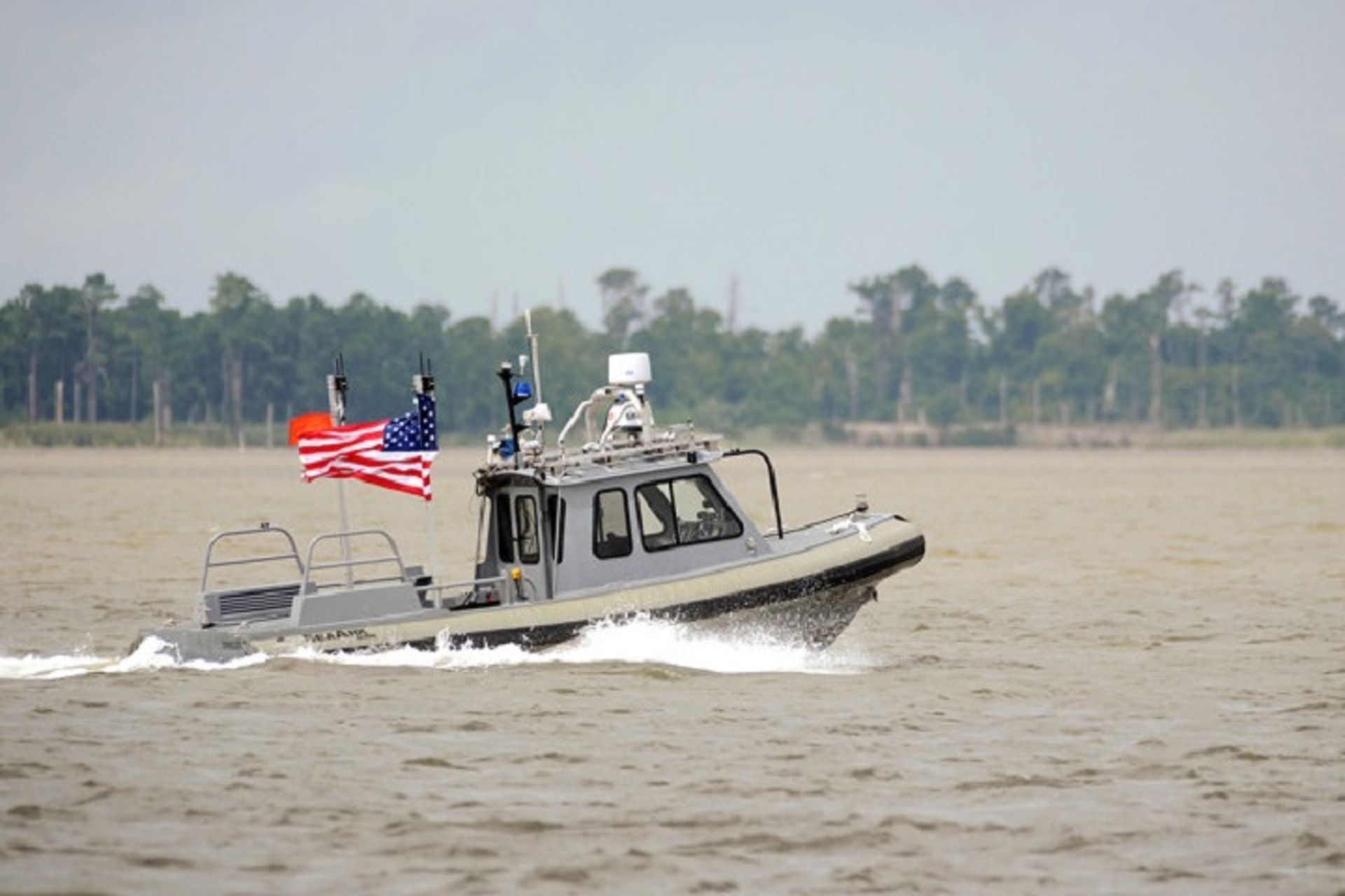 U.S. Navy Gets in the Autonomous Game with Self-Sailing Swarm Boats