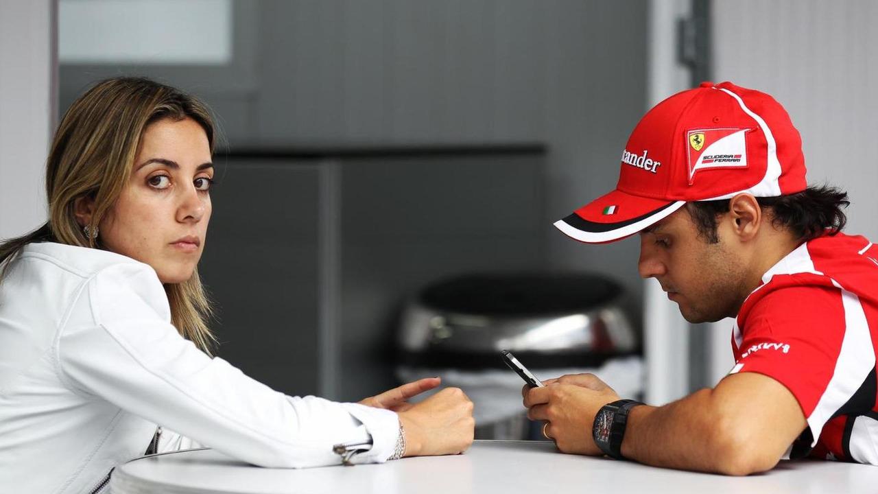 Felipe Massa with wife Rafaela Bassi 24.11.2012 Brazilian Grand Prix