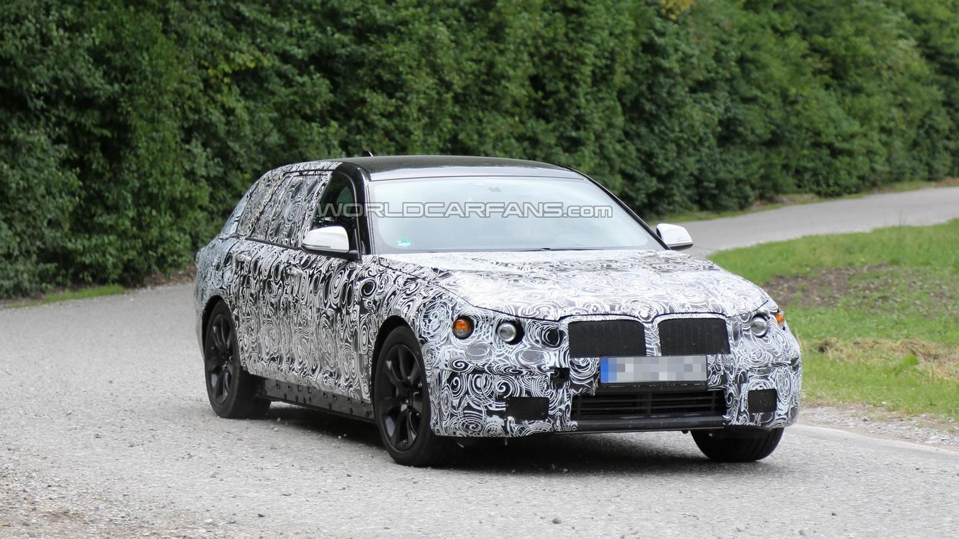 2016 BMW 5-Series spied again