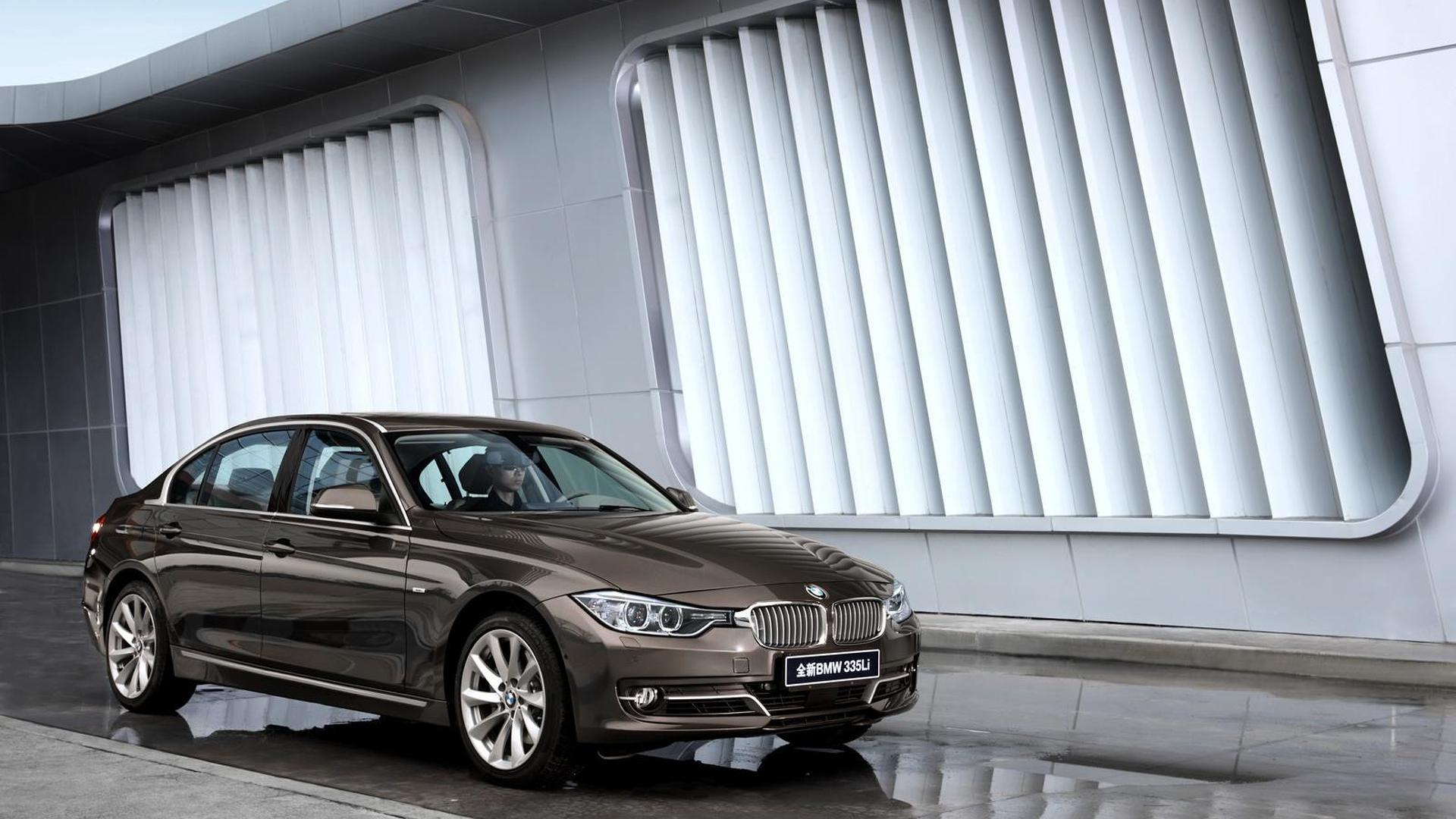 BMW 3-series LWB world debut in Beijing confirmed