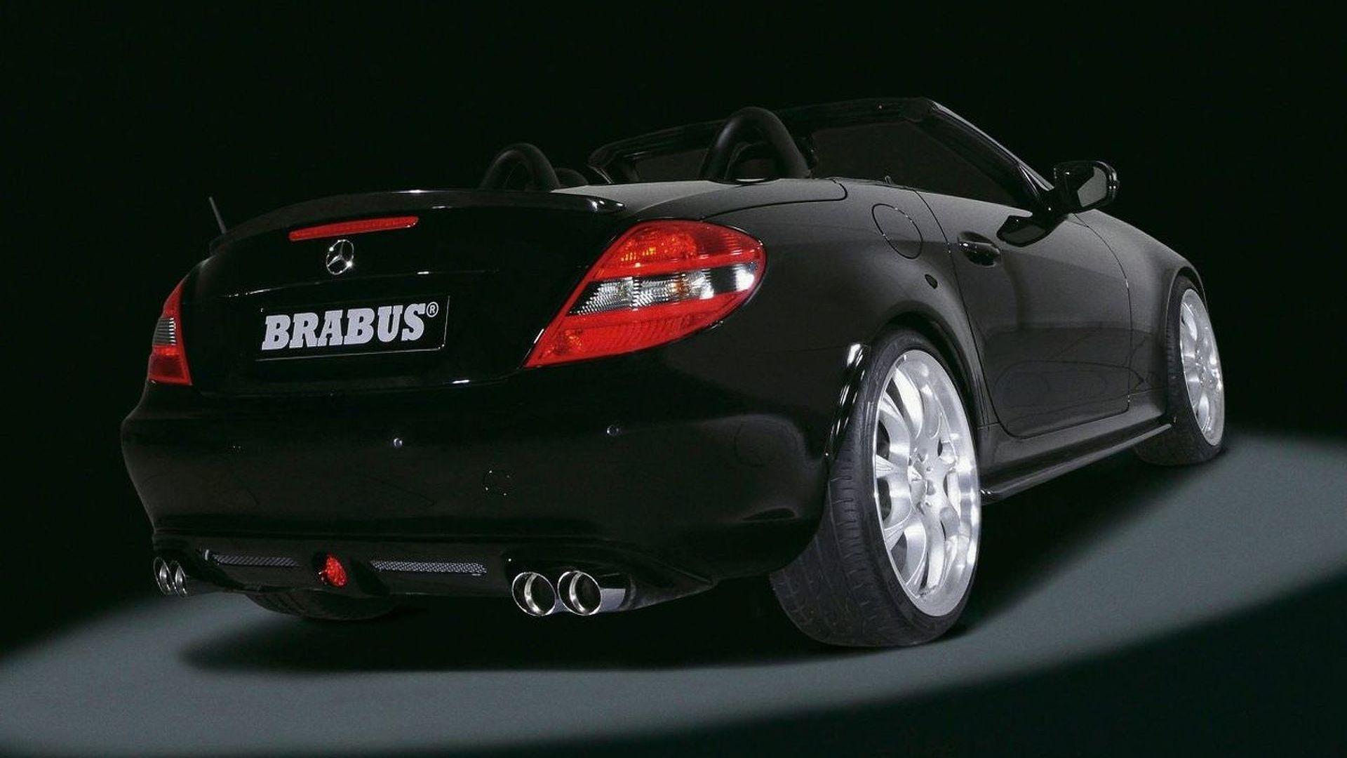 New Mercedes SLK by Brabus
