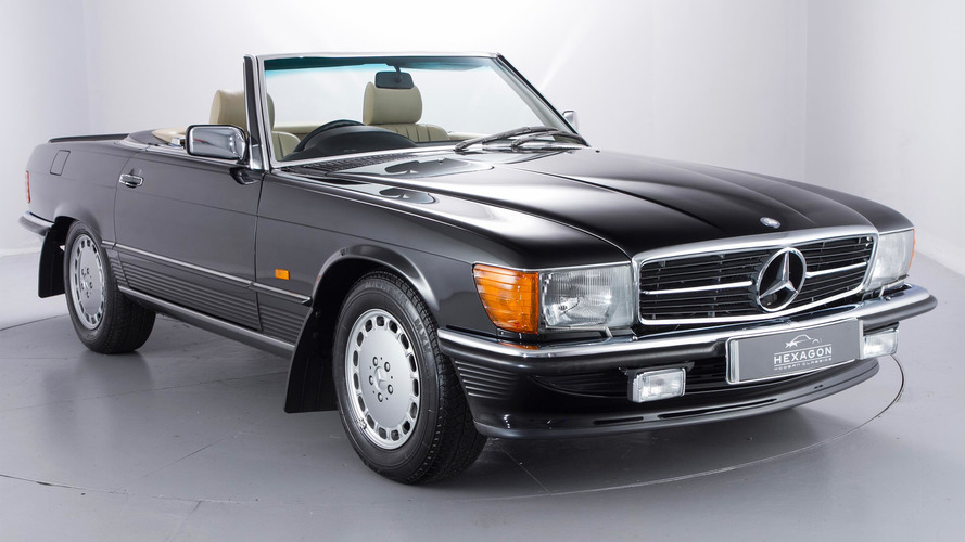 Time capsule 1989 Mercedes 500SL with 965 miles is for sale