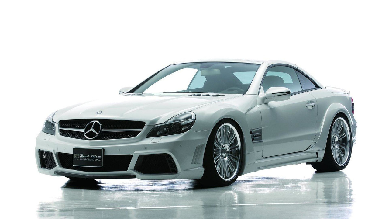 Mercedes-Benz R230 SL-Class Sports Line Black Bison Edition by Wald International 20.10.2011