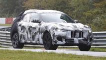 Maserati Levante loses some camo on latest Ring run