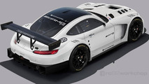 Mercedes-AMG GT3 speculatively rendered