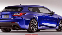 Lexus RC F Shooting Brake is crazy yet beautiful idea