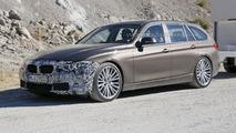 2015 BMW 3-Series facelift spy photo