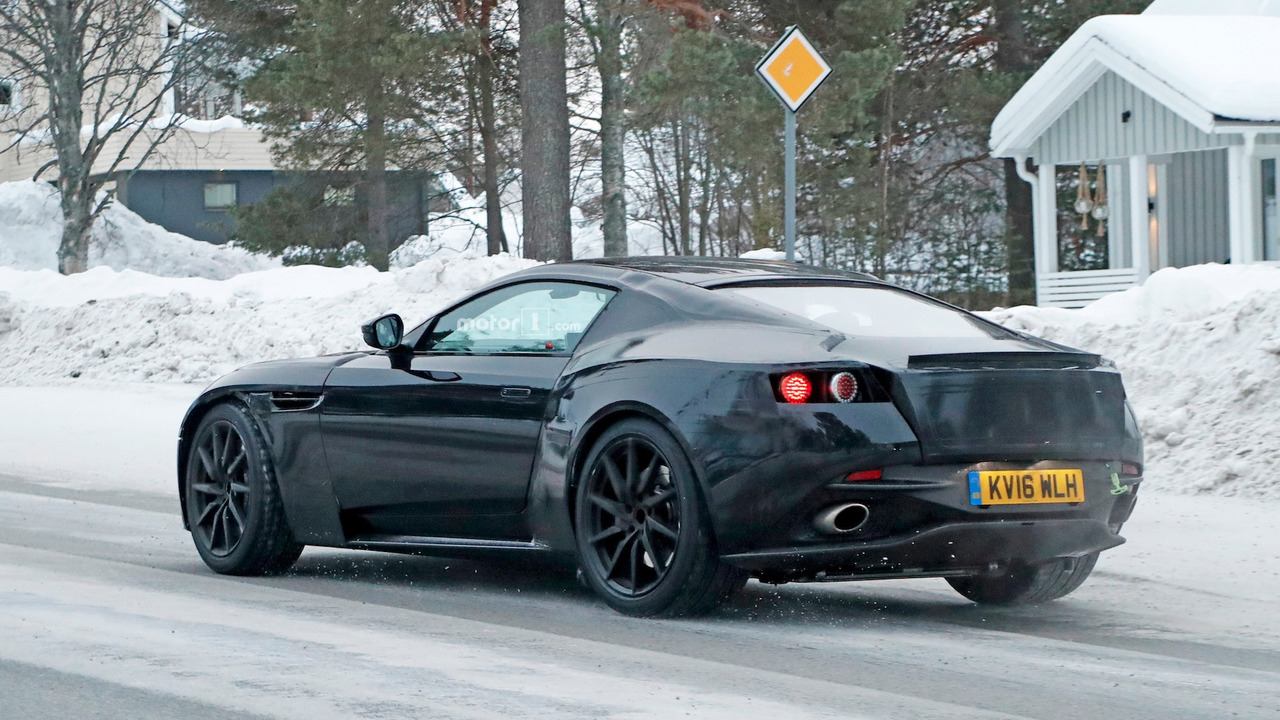 2017 - [Aston Martin] Vantage 2018-aston-martin-vantage-spy-shots