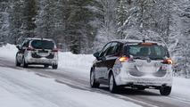 2017 Opel Zafira spy photo