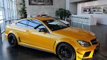 Solarbeam Mercedes-Benz C63 AMG Coupe Black Series - 16.11.2011