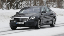 Mercedes S Class facelift spied inside and out (20 pics)