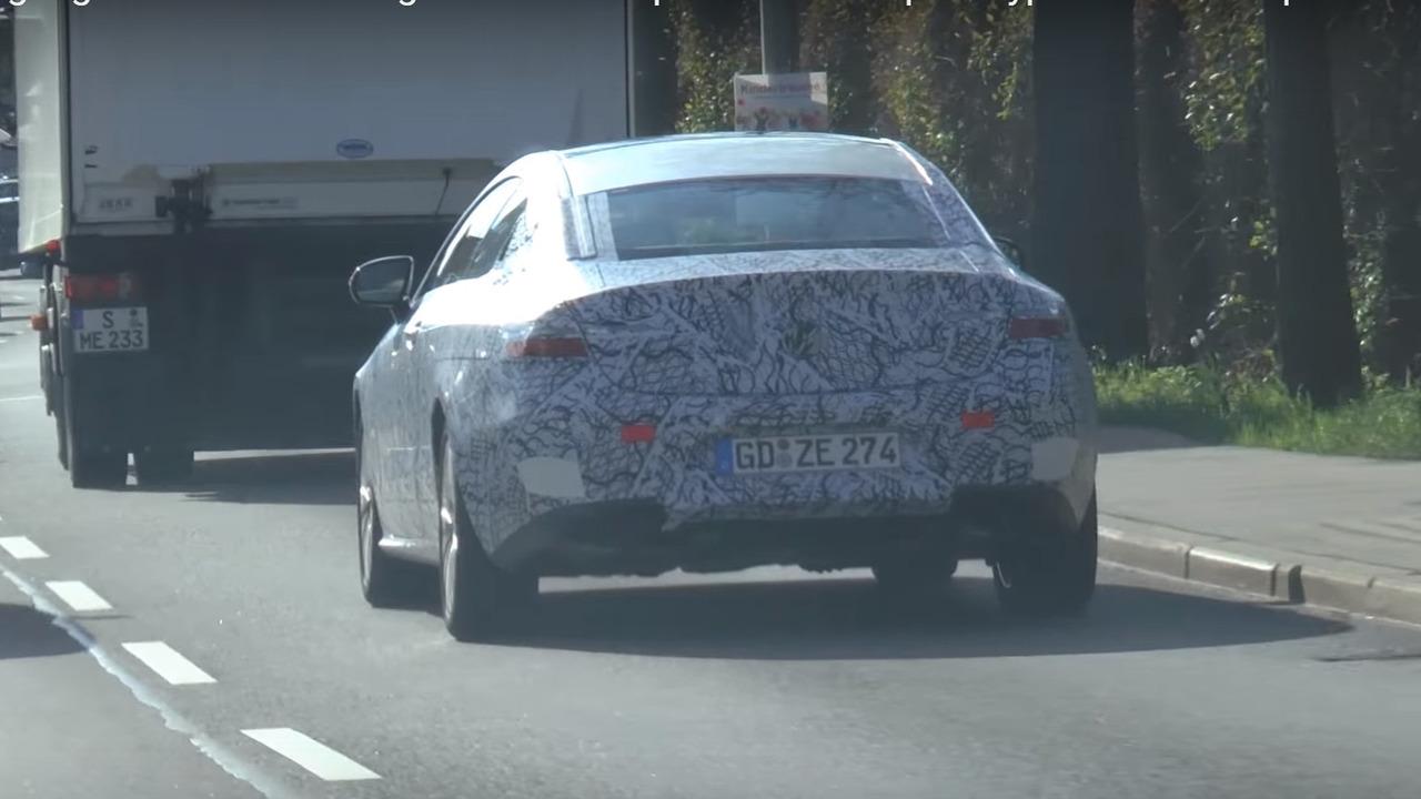 2017 Mercedes-Benz E-Class Coupe spy photo