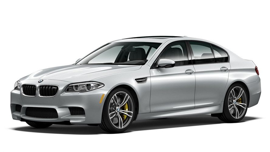 BMW M5 Pure Metal Silver unleashed with 600 hp only for U.S.