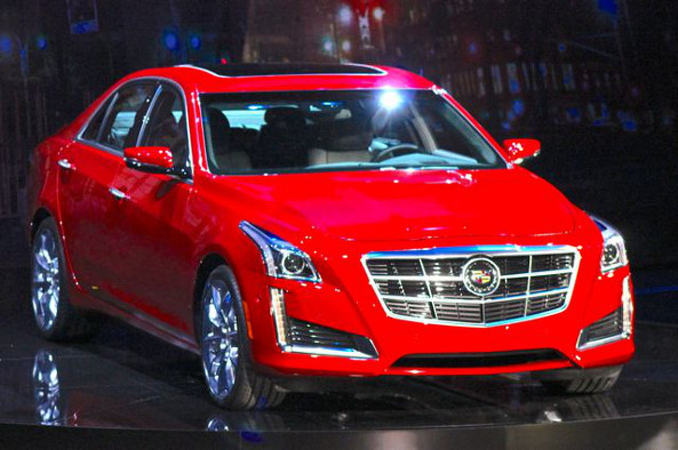 2014 Cadillac CTS Continues to Define American Luxury