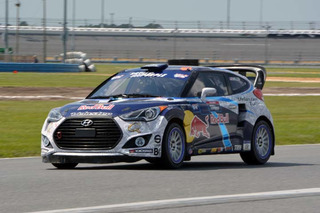 Rhys Millen, Hyundai Let Us Hitch a Rallycross Ride
