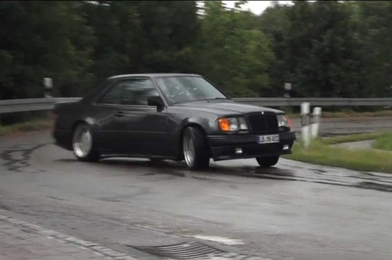 Getting Very Sideways in the Menacing Mercedes-Benz AMG Hammer