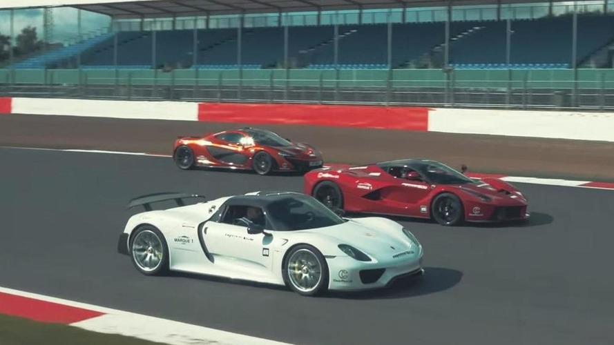 LaFerrari, McLaren P1 and Porsche 918 Spyder comparison finally happening [teaser video]