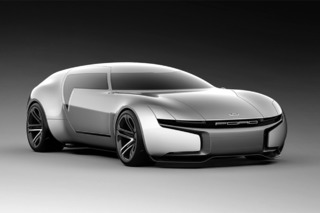 Ford Caspi Concept Envisions the Future of the Wagon