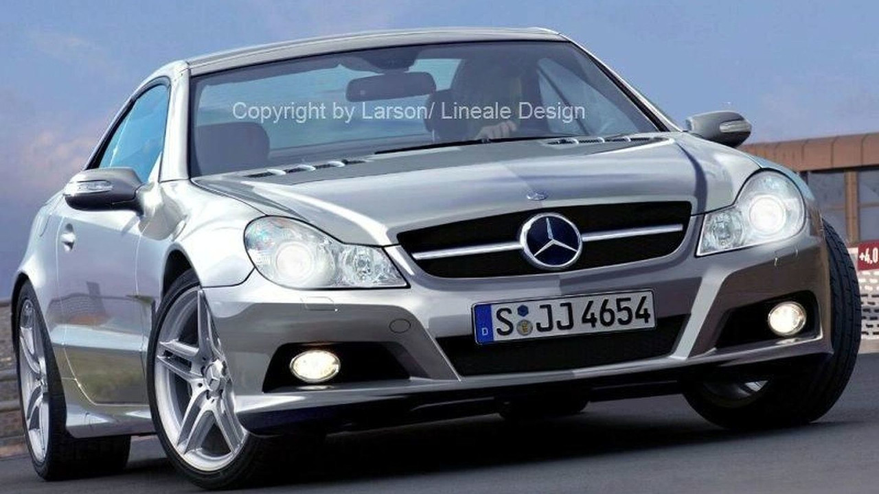 Mercedes SL Class Major Facelift illustration