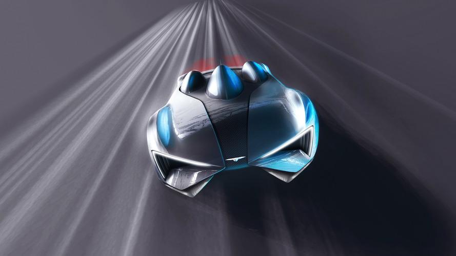 Techrules supercar production design teased ahead of Geneva