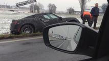 Alfa Romeo 4C prototype goes ditch diving [video]