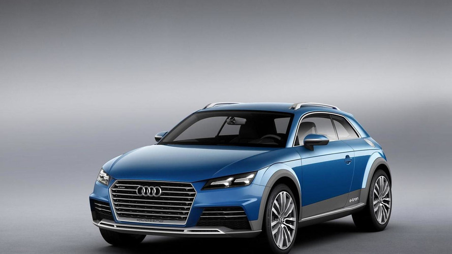 Audi Allroad Shooting Brake concept officially revealed with 408 HP plug-in hybrid system