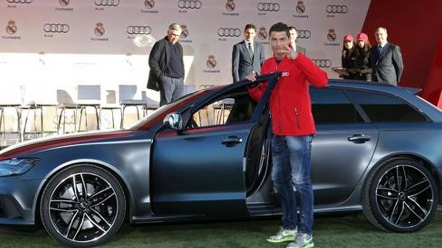 Real Madrid players receive their yearly Audis, about half are Q7 3.0 TDI