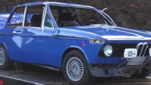Restored BMW 2002 accident