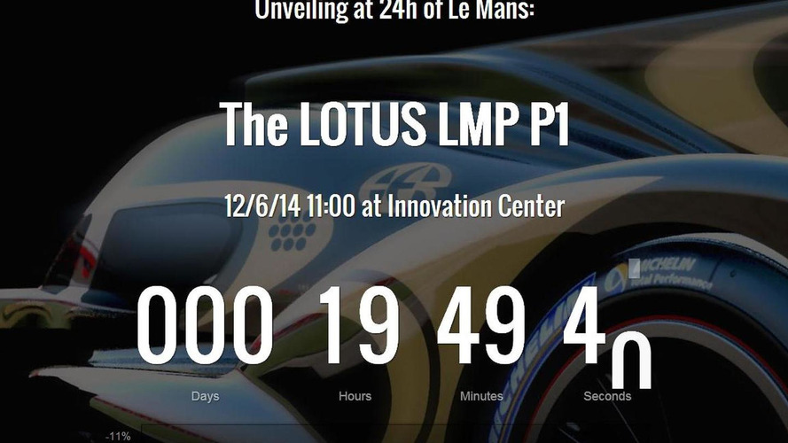 Lotus LMP P1 to be unveiled tommorrow