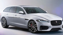 Jaguar XF Sportbrake render