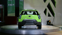 Kia KND-4 Compact SUV Concept at Los Angeles Motor Show